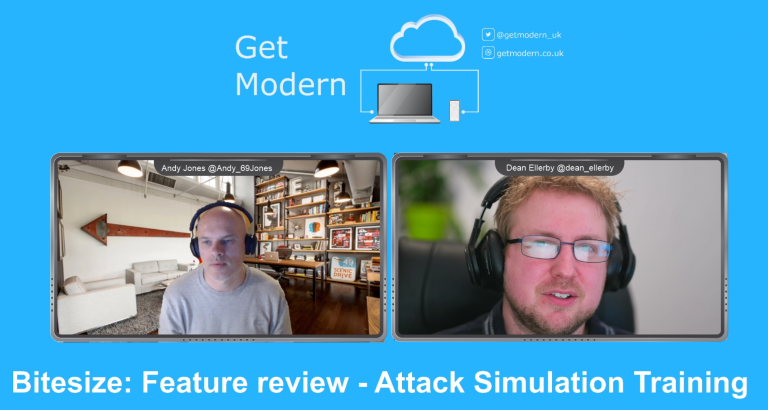 Bitesize update 4: Feature Review – Attack Simulation Training